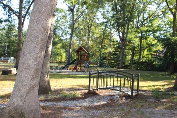 playground and bridge